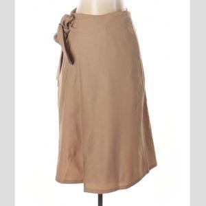 Cuyana Italian Wool Wrap Skirt
